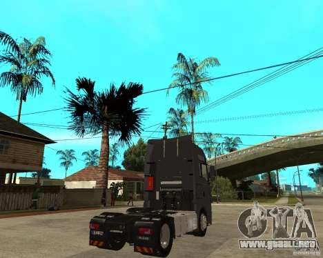 Man TGA para GTA San Andreas vista posterior izquierda