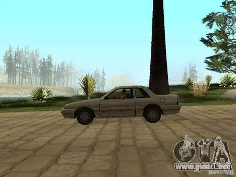 Suspensión de aire para GTA San Andreas sucesivamente de pantalla