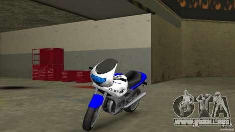 Suzuki GSX-R 600 beta 0.1 para GTA Vice City