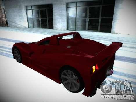 Lada Revolution para visión interna GTA San Andreas