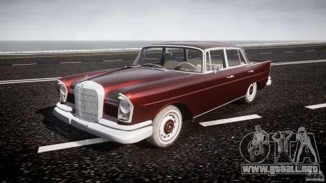 Mercedes-Benz W111 v1.0 para GTA 4