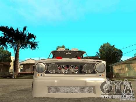 VAZ 2101 coche Tuning estilo para la visión correcta GTA San Andreas