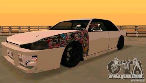 New Sultan v1.5 para GTA San Andreas left