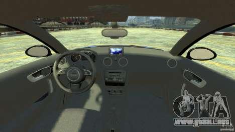 Audi A1 para GTA 4 visión correcta
