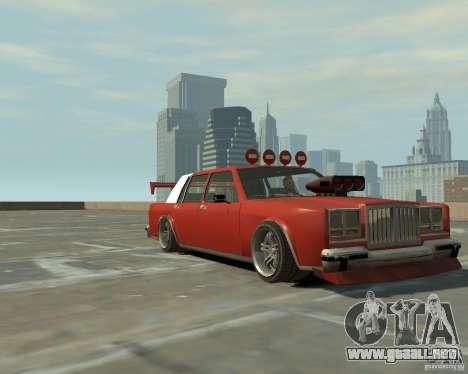 Greenwood sintonizado de San Andreas para GTA 4 left