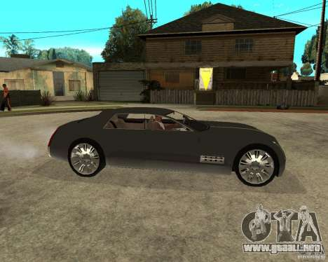 Cadillac Sixteen para la visión correcta GTA San Andreas