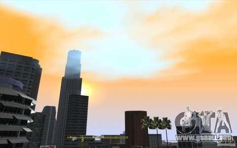 Timecyc Los Angeles para GTA San Andreas séptima pantalla