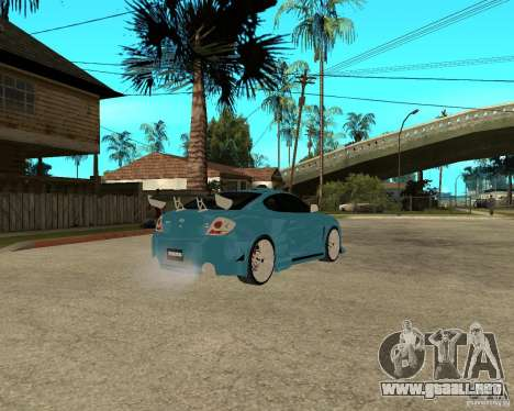 Hyundai Tibuton V6 GT para la visión correcta GTA San Andreas
