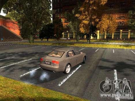 Audi A4 3.0 TDI Quattro 2005 para la visión correcta GTA San Andreas