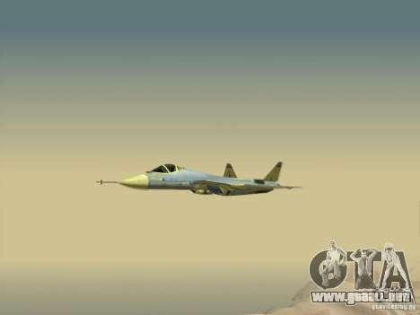 T-50 Pak Fa para vista inferior GTA San Andreas