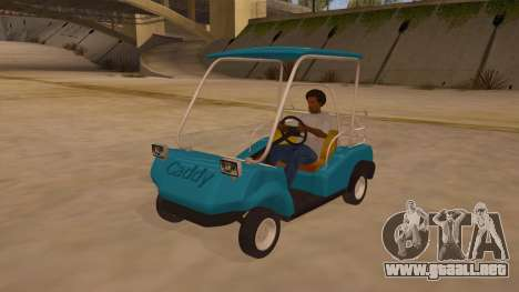 Golf kart para GTA San Andreas