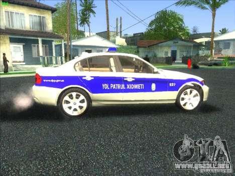 BMW 330i YPX para visión interna GTA San Andreas