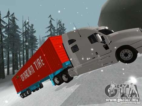 Remolque contenedor para la visión correcta GTA San Andreas
