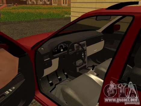 VAZ-2171 para GTA San Andreas vista hacia atrás