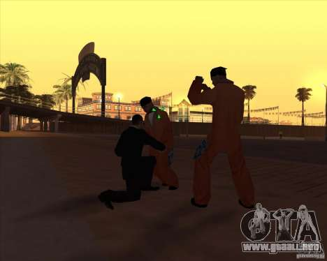 Kick in the balls para GTA San Andreas tercera pantalla