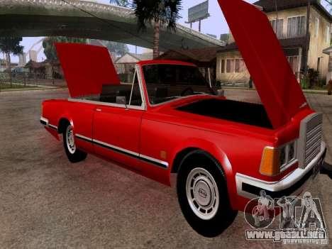 ZIL 41044 Phaeton para visión interna GTA San Andreas