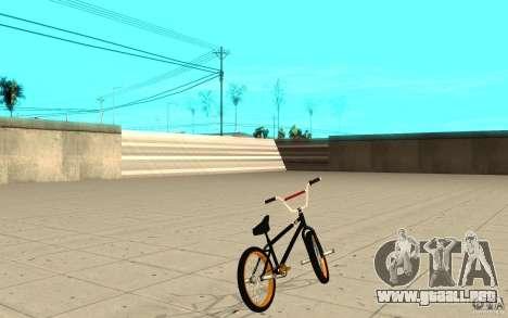 REAL Street BMX para GTA San Andreas vista posterior izquierda