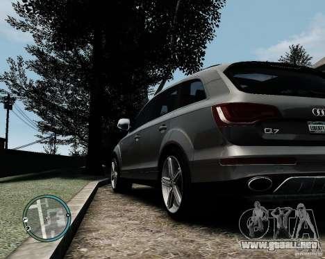 Audi Q7 V12 TDI Quattro Updated para GTA 4 visión correcta
