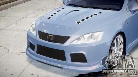 Lexus IS F para GTA motor 4