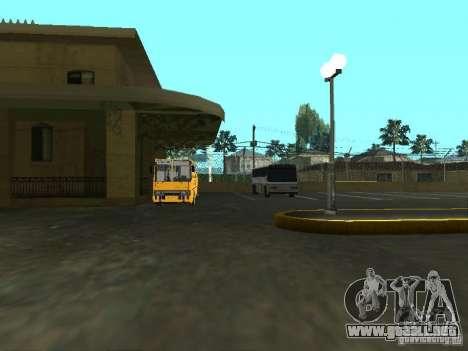 Bus 5 v. 1.0 para GTA San Andreas sucesivamente de pantalla