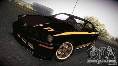 Shelby GT500 Terlingua para GTA San Andreas left