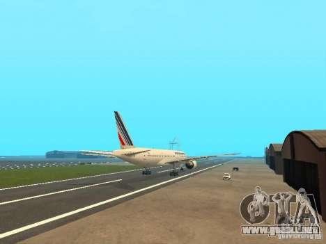 Boeing 777-200 Air France para la visión correcta GTA San Andreas