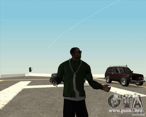 Animación diferente para GTA San Andreas quinta pantalla