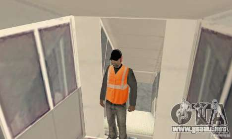 Airport Vehicle para GTA San Andreas novena de pantalla