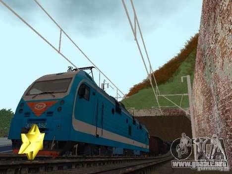 Animtrain para GTA San Andreas tercera pantalla