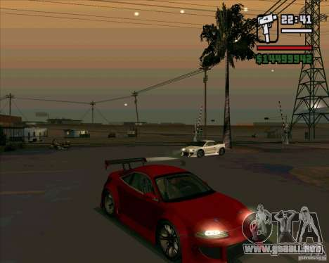 Mitsubishi Eclipse GS-T para GTA San Andreas left
