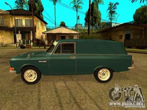 AZLK 2734 para GTA San Andreas left