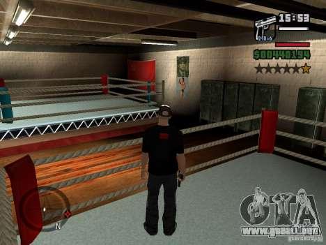 Un jubilado gimnasio para GTA San Andreas
