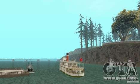 RMS Segwun Ferry para GTA San Andreas left