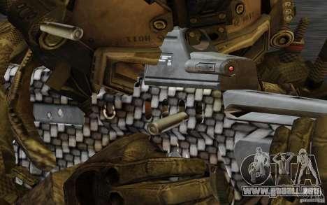 Tavor Tar-21 Carbon para GTA San Andreas tercera pantalla