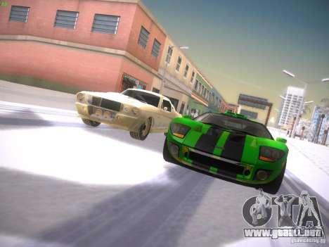 Ford GT para vista lateral GTA San Andreas