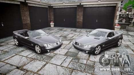 Mercedes Benz SL65 AMG para GTA 4 interior