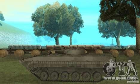 BMP-1 gris para GTA San Andreas left