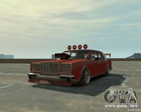 Greenwood sintonizado de San Andreas para GTA 4