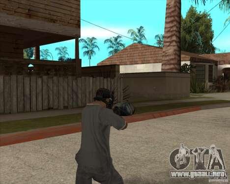 M4 Drum Magazine para GTA San Andreas tercera pantalla