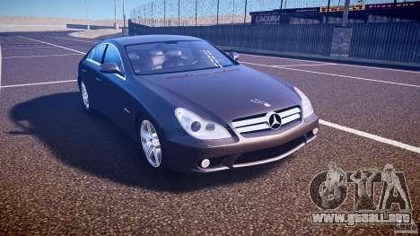 Mercedes-Benz CLS 63 para GTA 4 vista interior
