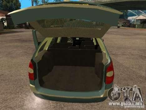 Renault Laguna II para GTA San Andreas vista hacia atrás