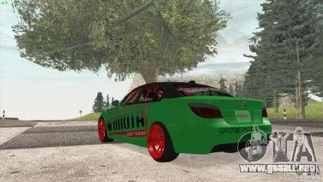 BMW M5 E60 Darius Balys para la visión correcta GTA San Andreas