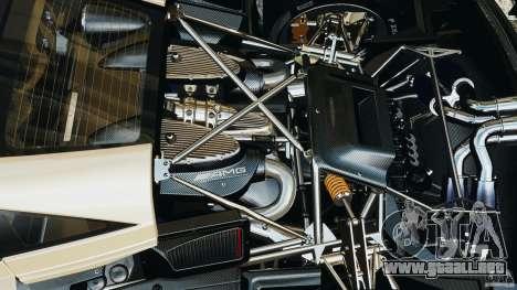 Pagani Huayra 2011 v1.0 [EPM] para GTA 4 vista superior