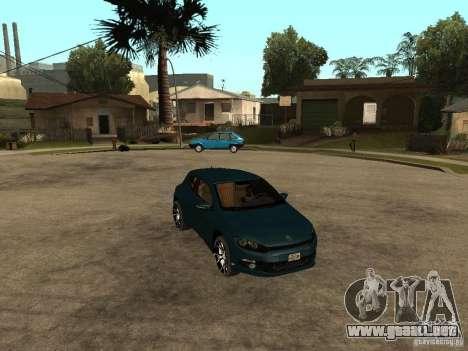 Volkswagen Scirocco 2010 para la visión correcta GTA San Andreas