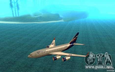 El IL-96-300 Aeroflot en nuevos colores para GTA San Andreas