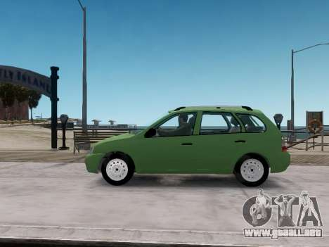 1117 LADA station wagon Viburnum para GTA 4 left