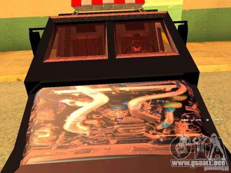Swat III Securica para GTA San Andreas vista posterior izquierda