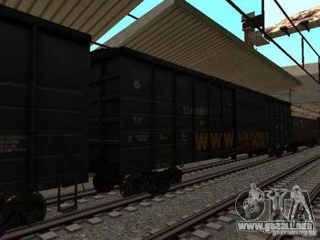 Final de ferrocarril mod IV para GTA San Andreas octavo de pantalla