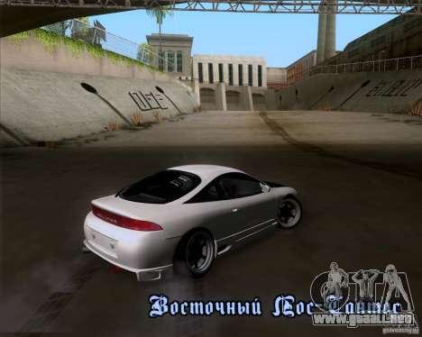 Mitsubishi Eclipse para visión interna GTA San Andreas
