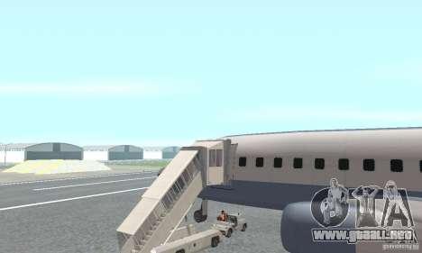 Airport Vehicle para GTA San Andreas segunda pantalla